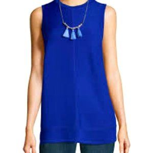 1X Alyx Blouse Top Tunic Cobalt Blue